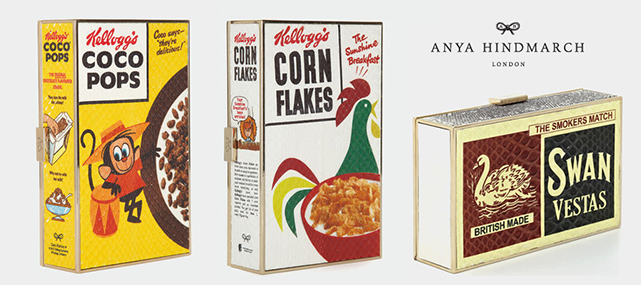 ANYA_HINDMARCH_LUXURY_CEREAL_BOX_MATCHBOX_CLUTCH_LONGDON_FASHION_PACKAGING